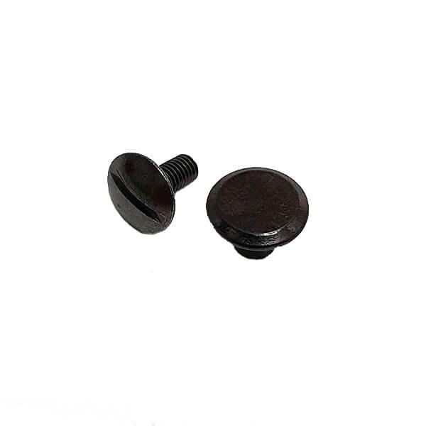 Capsă metalică premium 9 mm cu filet culoare neagru