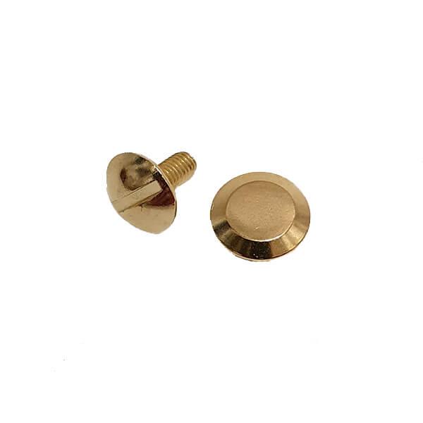 Capsă metalică premium 9 mm cu filet culoare Oro