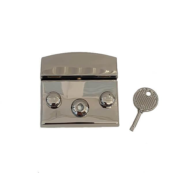 Închizătoare metalică pentru poșete NK 48×50 mm