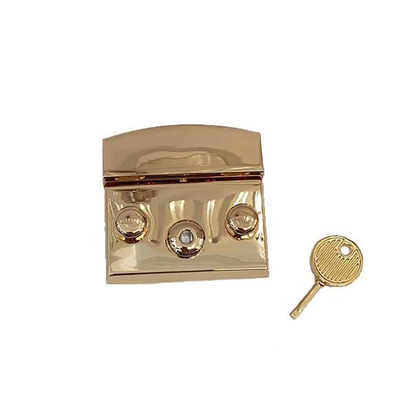 Închizătoare metalică pentru poșete ORO 48×50 mm