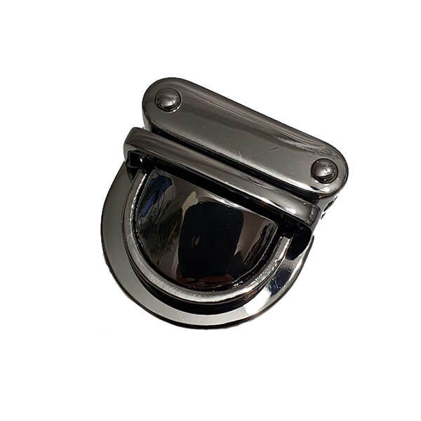 Închizătoare metalică premium 30×30 mm culoare negru