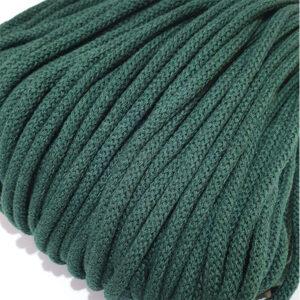 Şnur plin din bumbac premium 5 mm - Pădurea Verde