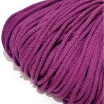 Şnur plin din bumbac premium 5 mm - Violet
